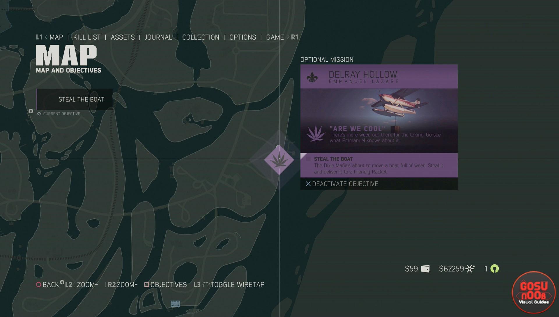 Siempre hay misiones secundarias para hacer, pero no siempre se pueden hacer (y no queda claro)