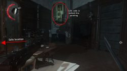 first safe code location dishonored 2