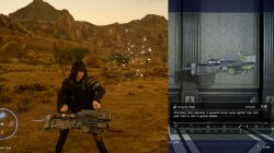 Gravity Well Machinery Weapon FFXV
