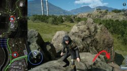 Hydraulic Cylinder Location FFXV