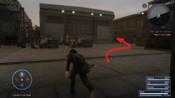 Noiseblaster Machinery Weapon Location FFXV
