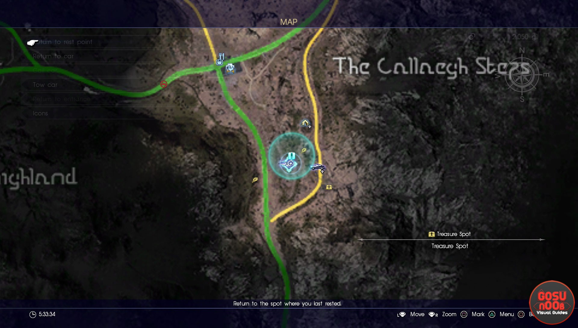 scraps of mystery I map final fantasy 15