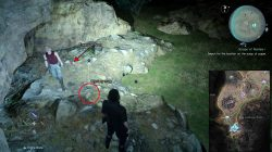 scraps of mystery i map location ffxv
