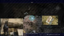 scraps of mystery II map final fantasy 15