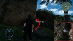 scraps of mystery VII map location ffxv