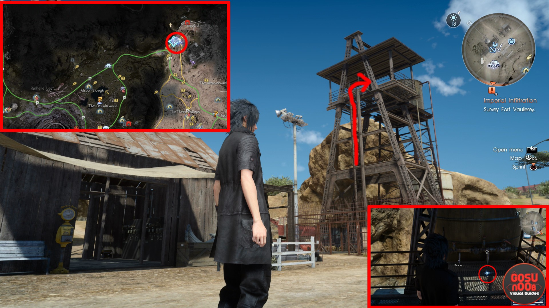 ffxv rusted bit prairie outpost