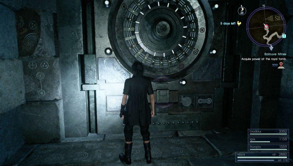 Ffxv Dungeon Locked Door How To Unlock It