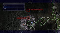 ffxv secret dungeon location
