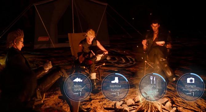 Skills in final fantasy xv for Final fantasy 15 fishing guide