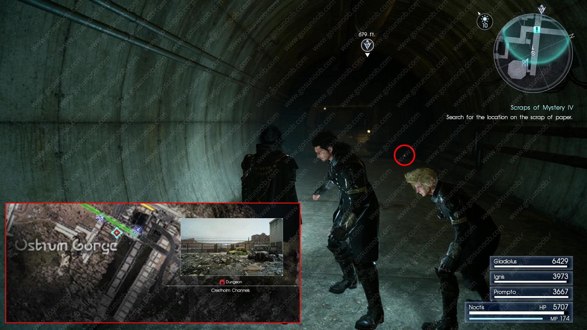 scraps of mystery IV scrap location
