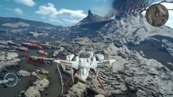 secret landing strip final fantasy xv