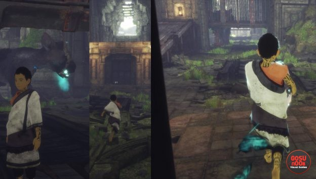 All Barrels in the Last Guardian
