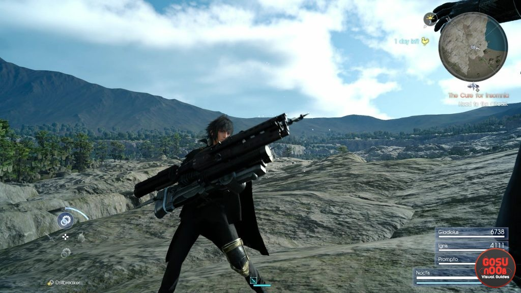FFXV Better Drillbreaker Quest