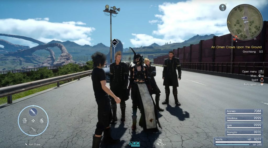 Final Fantasy XV How to get Aranea as a permanent Party Member