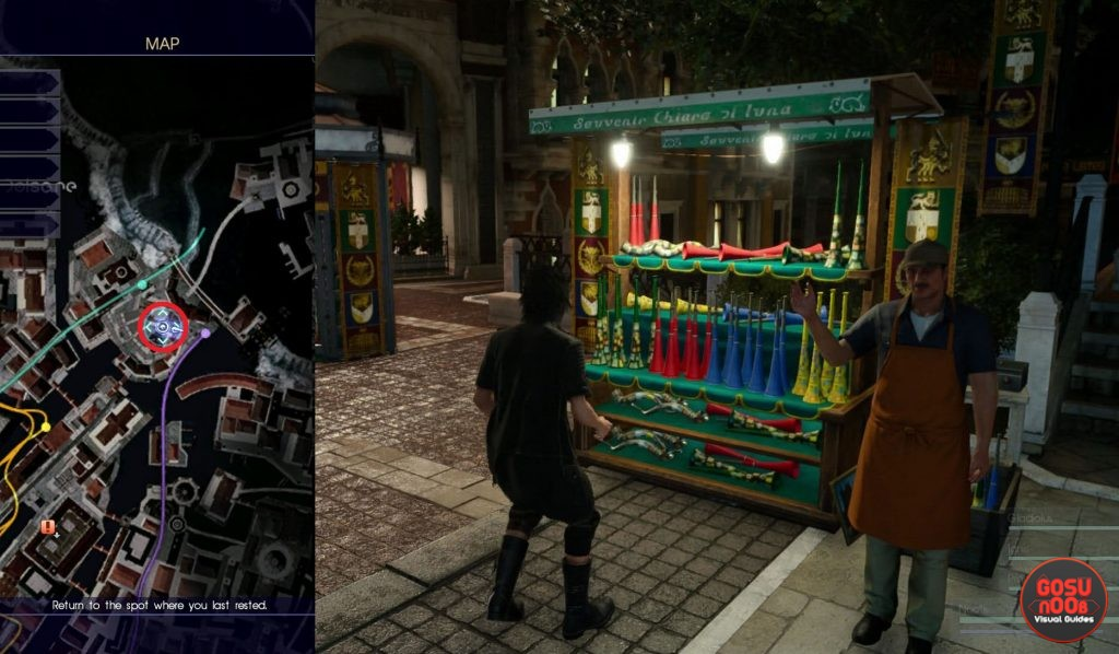 Horn Vendor Altissia FFXV