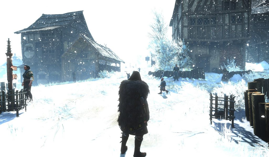 Winter Mod Witcher 3 Wild Hunt