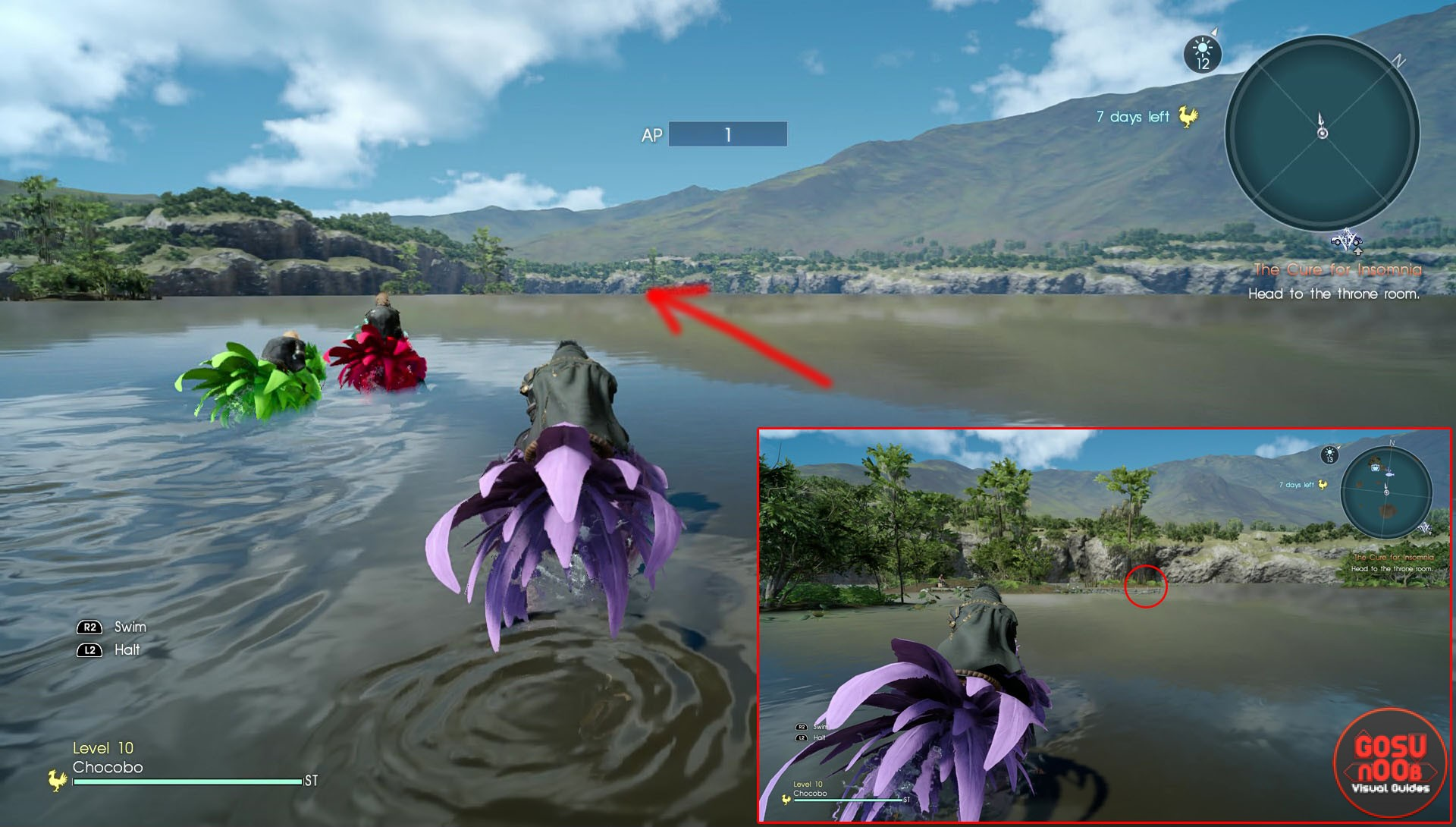 Final fantasy xv secret locations quests for Final fantasy 15 fishing guide