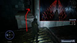 go left and cross through spikes room