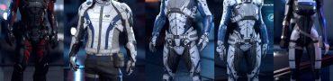 Alec Ryder Liam Kosta Scott Sarah Ryder Cora Harper Mass Effect Andromeda