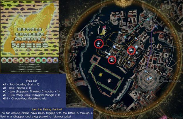 Fishing Festival Moogle Chocobo Carnival Final Fantasy XV