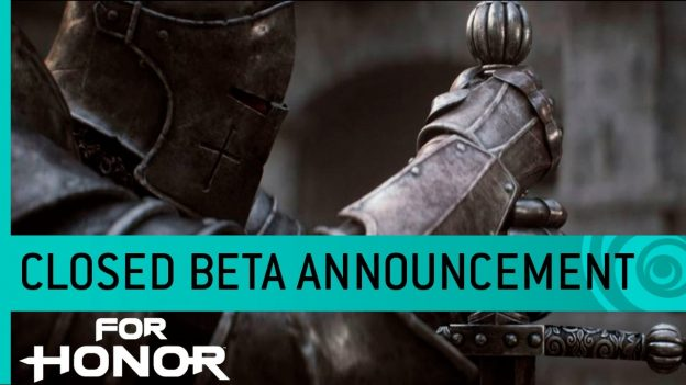 For Honor Closed Beta Date Announced
