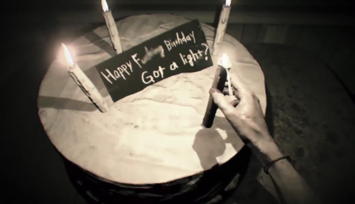 Re7 Out Before Dessert Trophy Guide Happy Birthday Tape