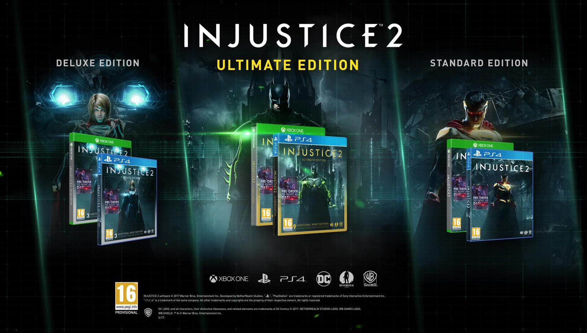 gamestop injustice 2 pre order bonus