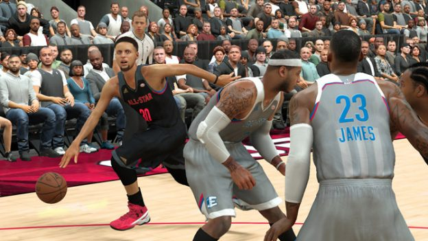 NBA 2k17 released All Star Uniforms