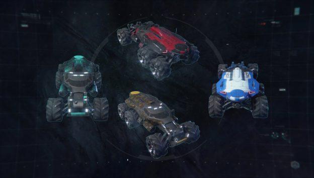 Nomad Paint Job Customization Mass Effect Andromeda