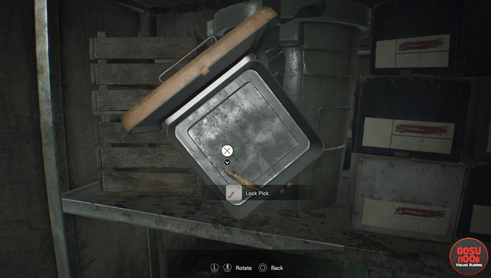 Resident Evil 7 Master Of Unlocking Trophy Guide Lock Pick Location