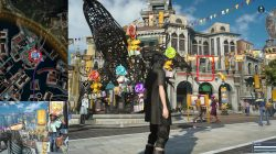 Sania Listro Park Photo Challenge Final Fantasy XV