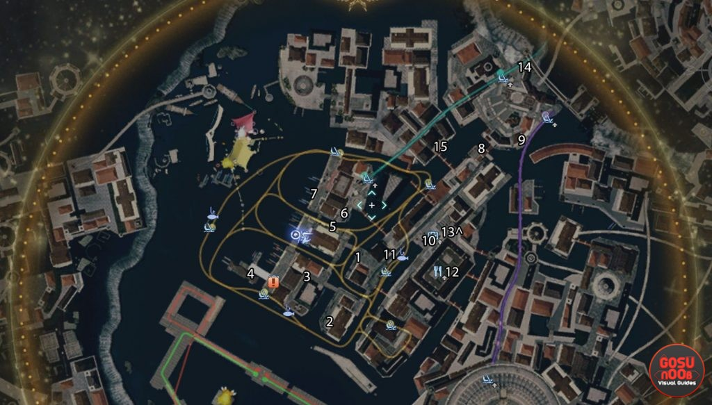 final fantasy xv odeka ke chocochick quest map