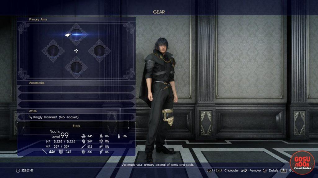FFXV level 120