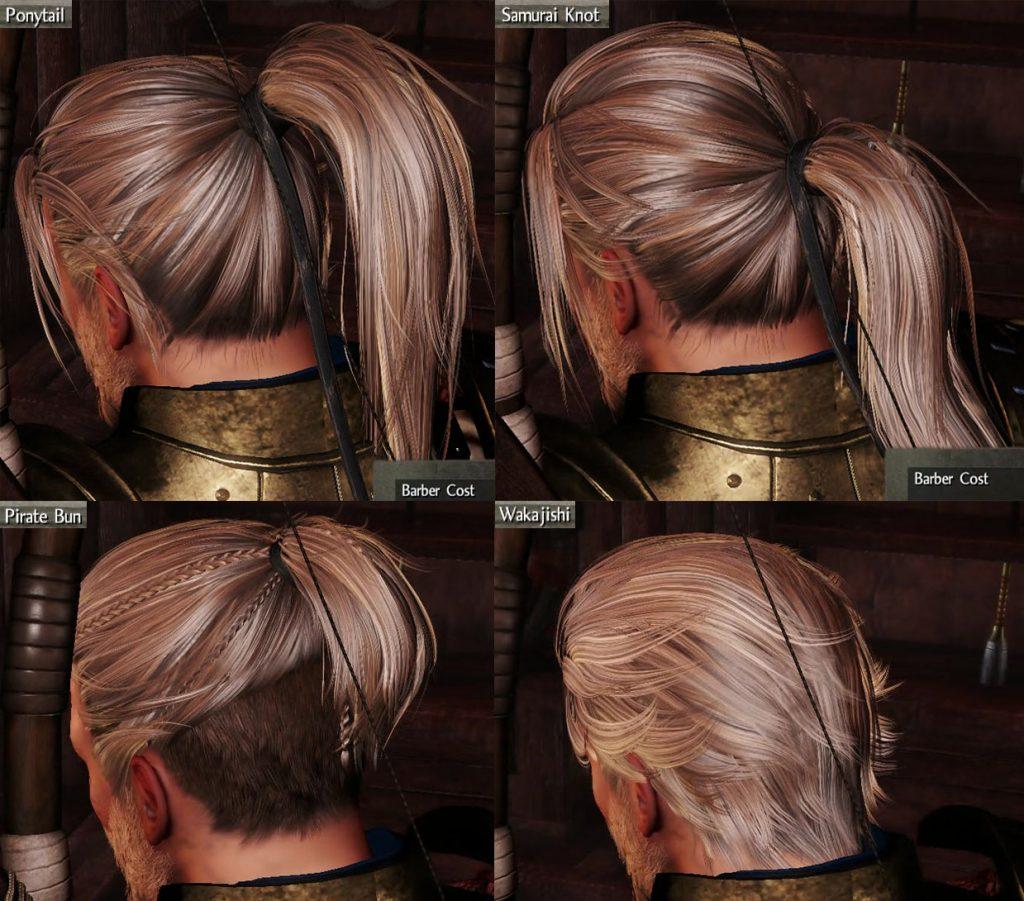 Hairstyles Customization in Nioh