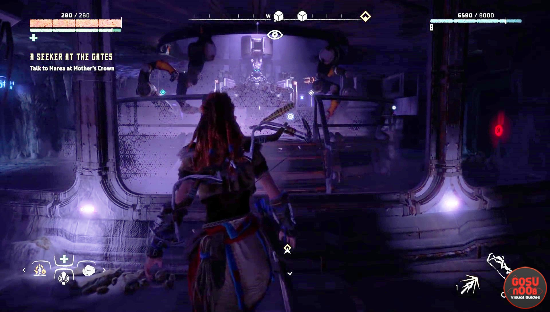Horizon Zero Dawn Ultraweave Armor Ancient Armory Quest