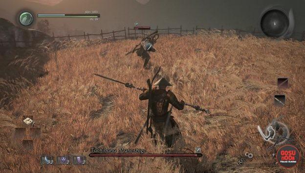 nioh tachibana muneshige duel side mission