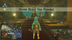 Divine Beast Vah Naboris Quest Zelda BotW
