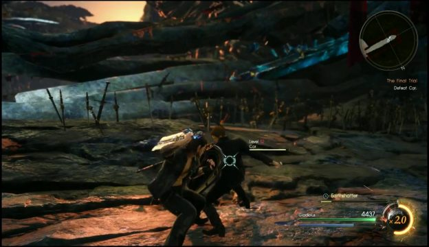 Episode Gladiolus Final Trial How to Beat Cor & Get Transcendence Trophy