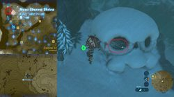 Frostspear Weapon Location Zelda BotW