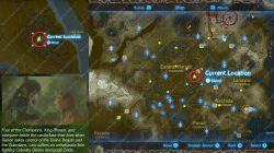 Recovered Memory 16 Hyrule Field Map Location Zelda BotW