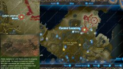 Recovered Memory 8 Map Location A Premonition Zelda Breath of the Wild