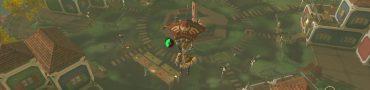 Tarrey Town finding Goron Gerudo Rito Zora quest guide Zelda botw