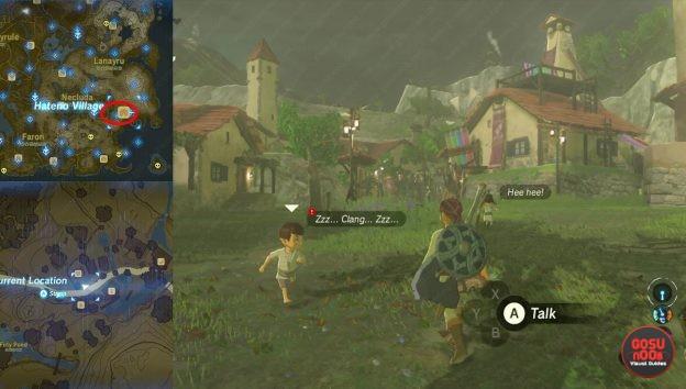The Weapon Connoisseur Quest Zelda Breath of the Wild