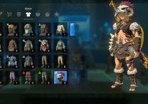 Zelda BOTW Barbarian Set Location