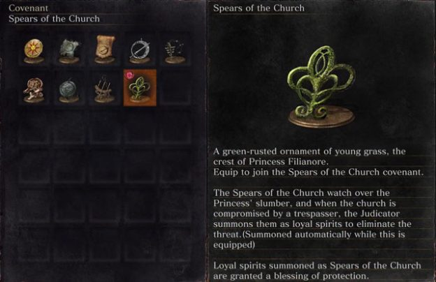 dark souls 3 ringed city spears of the church covenant