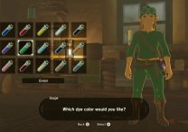 how to get green tunic in zelda breath of the wild