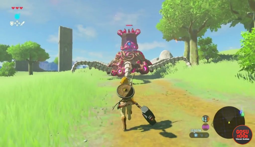 Zelda Breath Of The Wild How To Kill Guardians