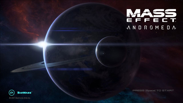mass effect andromeda black screen on startup