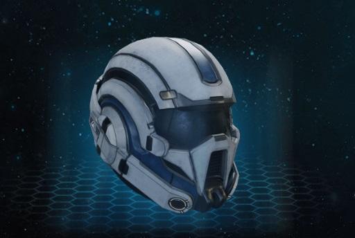 pathfinder helmet mass effect andromeda