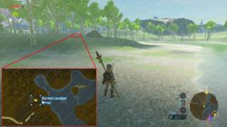 recovered memory 3 location zelda breath the wild